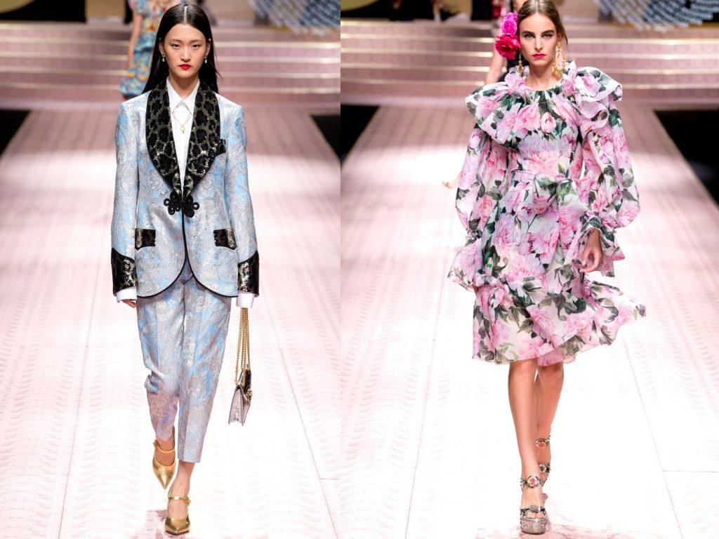 Dolce Gabbana мода лето 2019