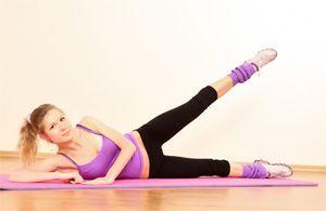 Упражнения против жира на бедрах